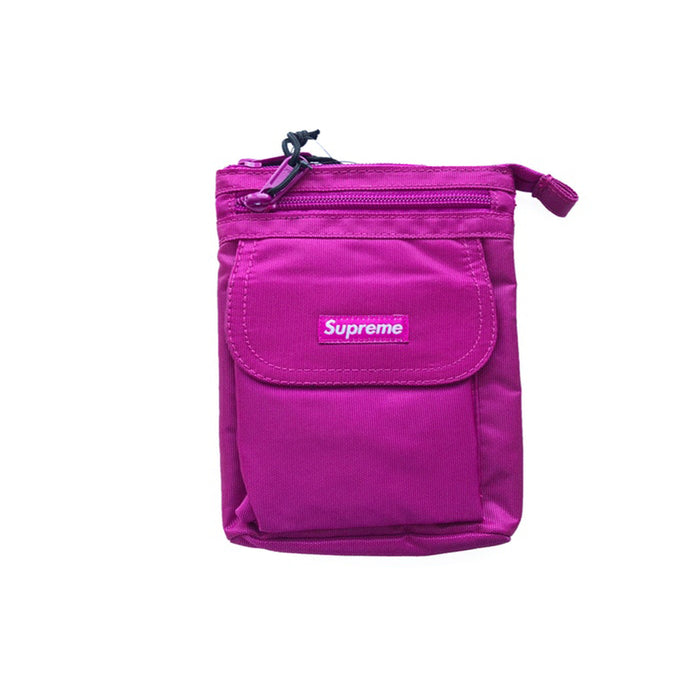 Supreme Shoulder Bag (FW19) Magenta