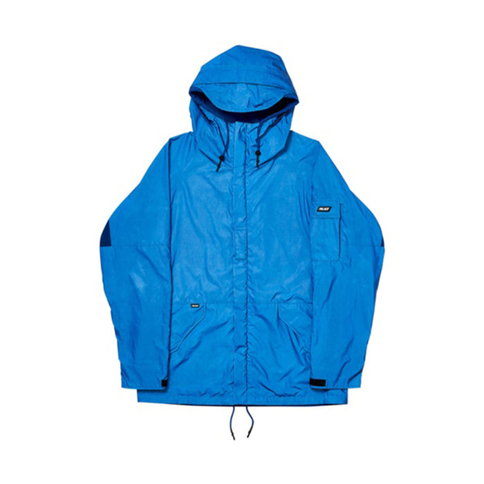 Palace Deflector Jacket Cobalt Blue Reflective