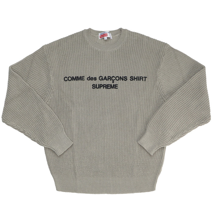 Supreme Comme des Garcons SHIRT Sweater Tan