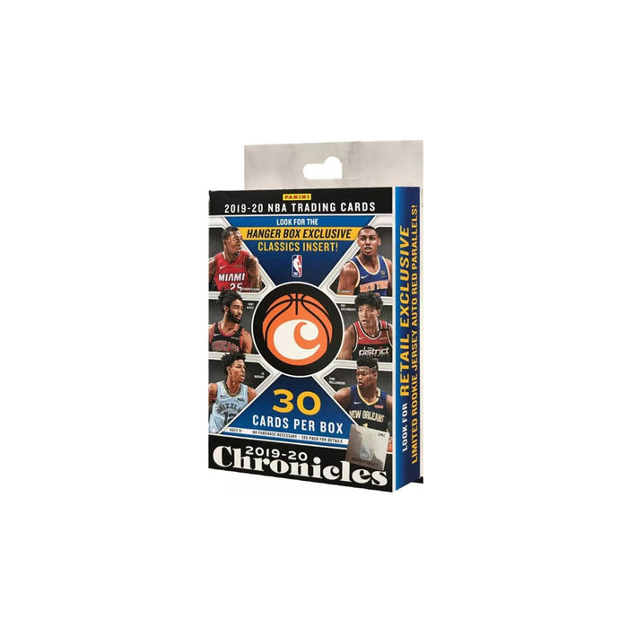 2019-20 Panini Chronicles Basketball Hanger Box