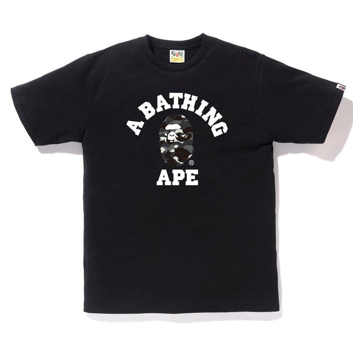BAPE City Camo College Tee Black/Black