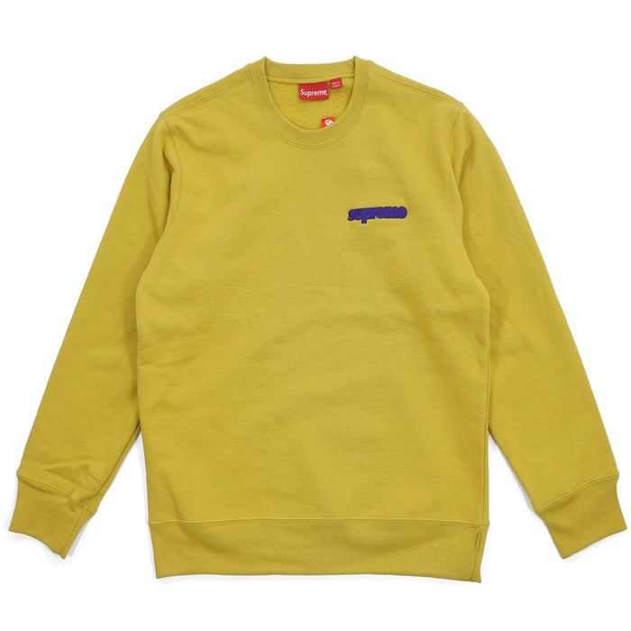 Supreme Connect Crewneck Sweatshirt Mustard