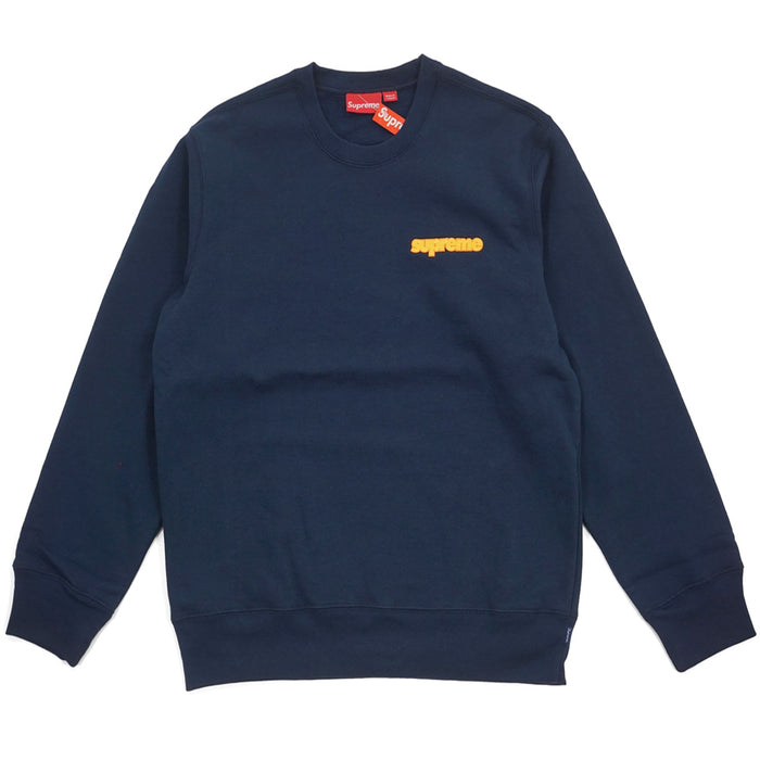 Supreme Connect Crewneck Sweatshirt Navy