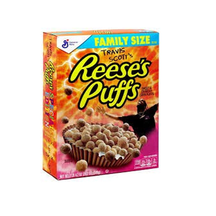 Travis Scott's Reese's Puffs Family Size