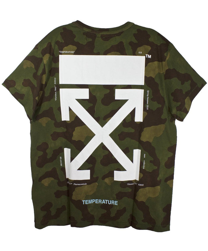 Off-White Camo Temperature T-Shirt