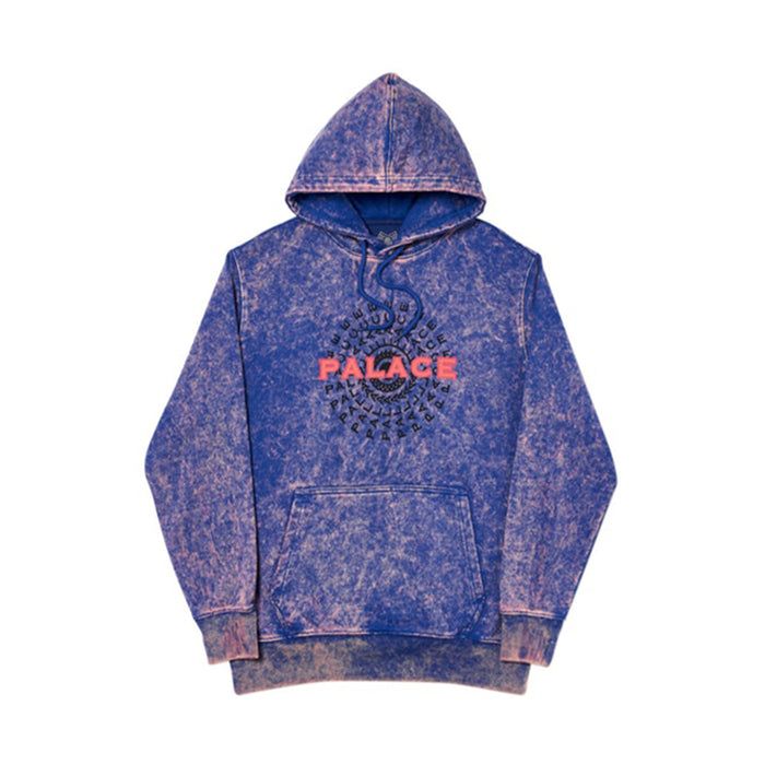 Palace Pircle Hood Blue Acid Wash