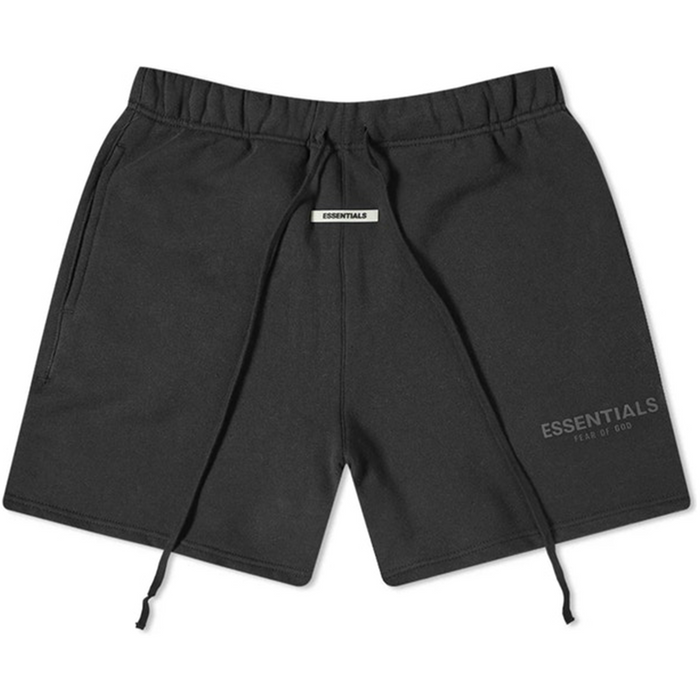 FOG ESSENTIALS Black Fleece Sweat Shorts (SS20)