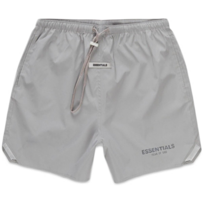 FOG ESSENTIALS Silver Reflective Volley Shorts