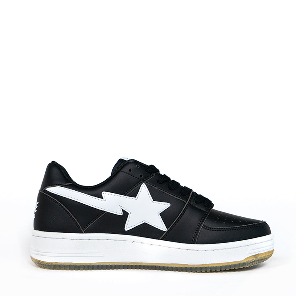 ca6c3f85 A Bathing Ape Bapesta Black Low – Plus