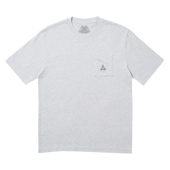 Palace Sofar Pocket T-Shirt (FW19) Grey Marl