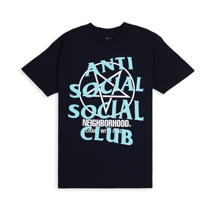ASSC X Neighborhood Filth and Fury Tee Black