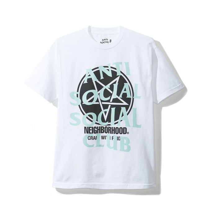 ASSC X Neighborhood Filth and Fury Tee White