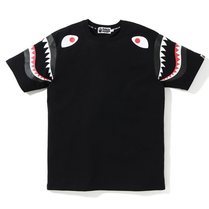 BAPE Double Shark Sleeve Black