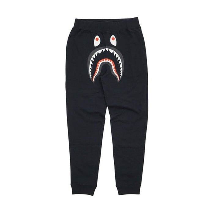 BAPE WGM Shark Slim Sweatpants Black