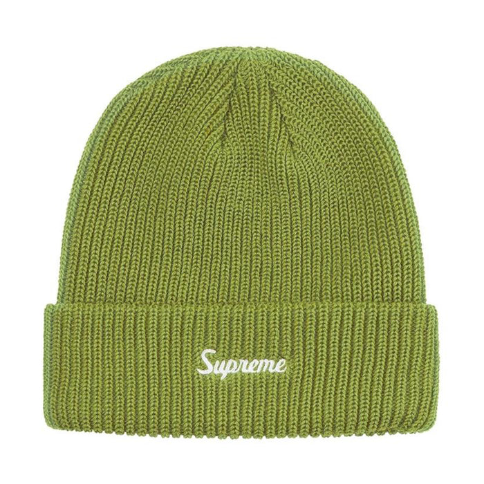 Supreme Loose Gauge Beanie (FW19) Light Olive