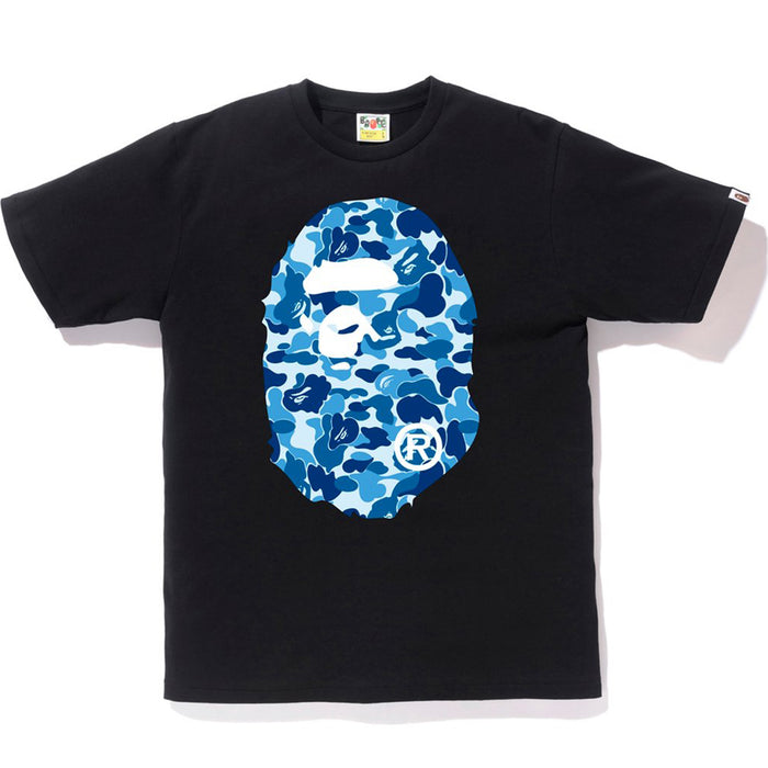 BAPE ABC Big Ape Head Tee Black/Blue