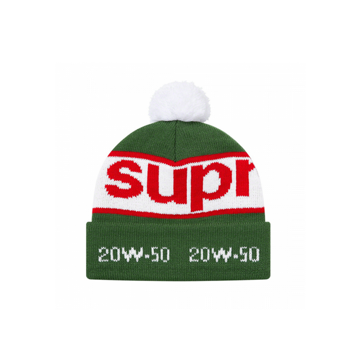 Supreme Garage Beanie Green