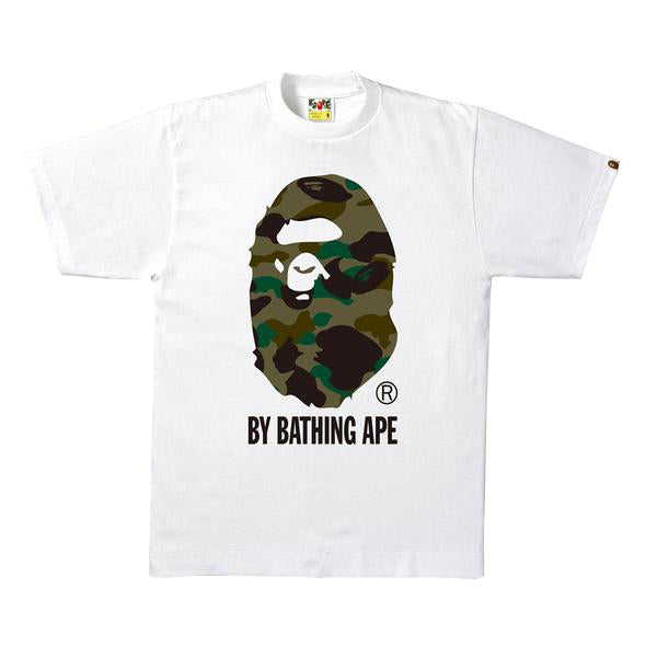 Bape 1st Camo by Bathing Tee White/Green