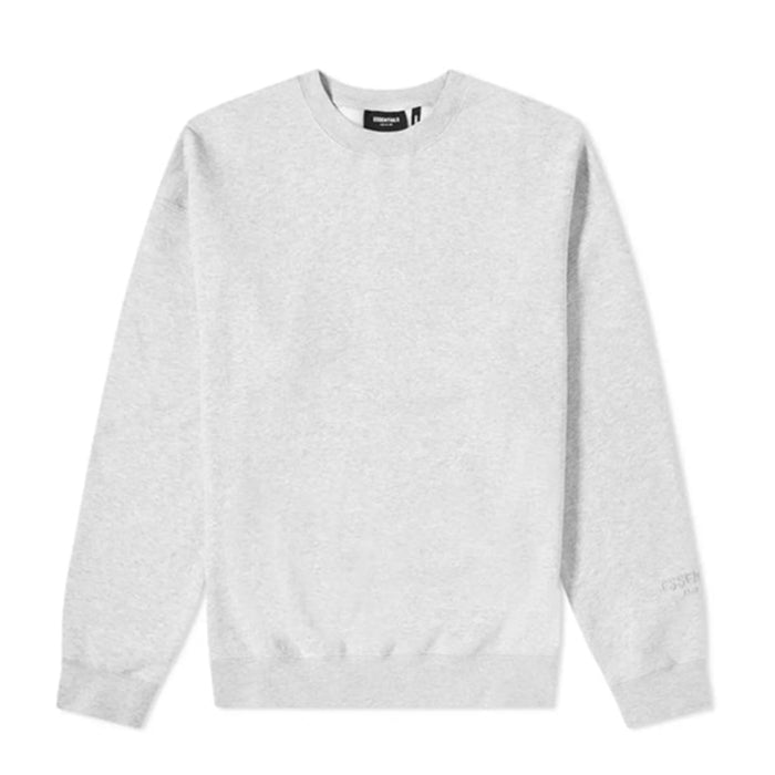 FOG ESSENTIALS 3M Logo Crewneck Sweatshirt Heather Grey/Black