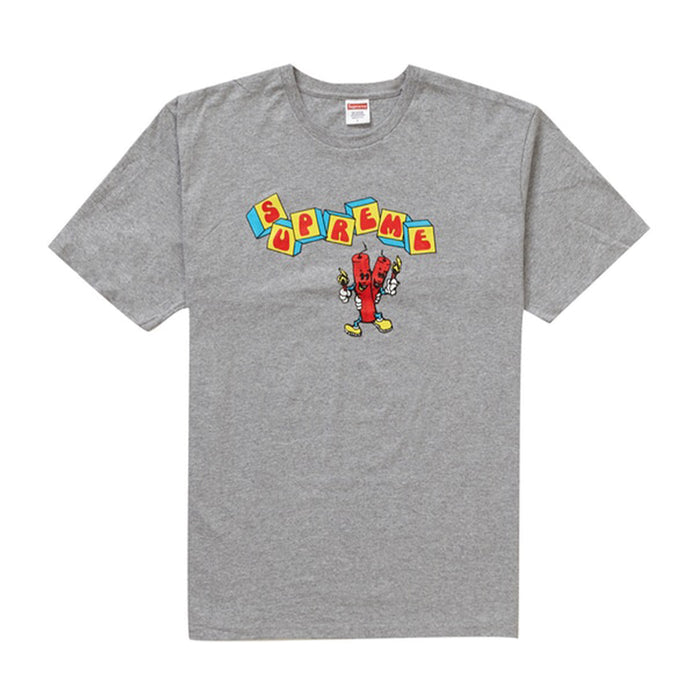 Supreme Dynamite Tee Heather Grey