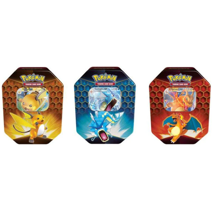 Pokemon Hidden Fates Tin Lot of 3