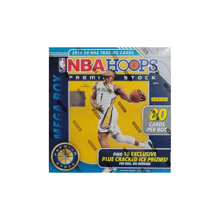 2019-20 Panini NBA Hoops Premium Stock Basketball Mega Box