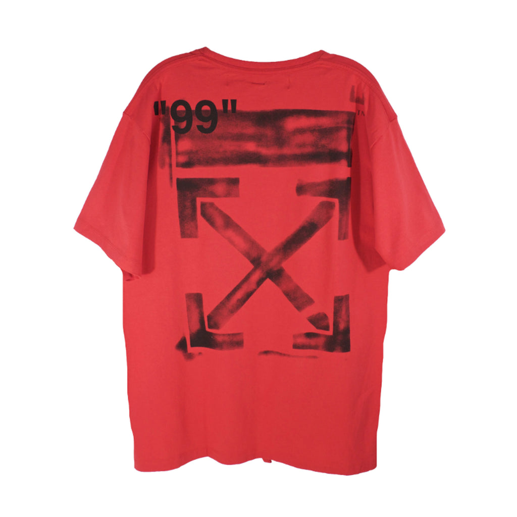 Off-White Red SS19 Impressionism T-Shirt