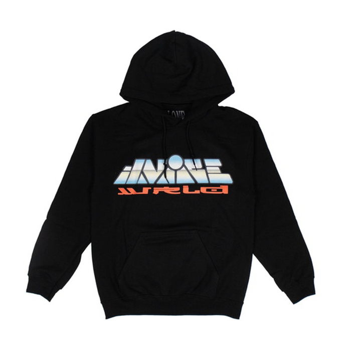 Juice Wrld x Vlone Graphic Hoodie Back/Multicolor