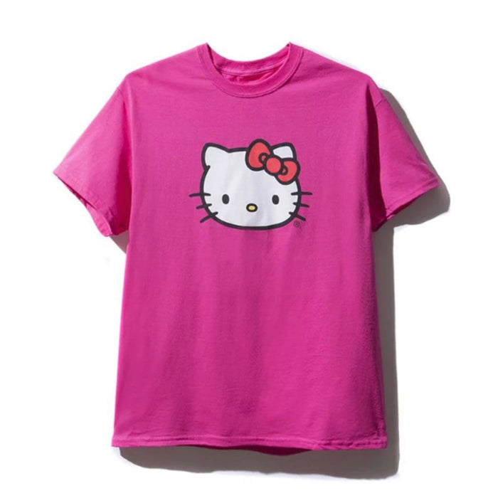Anti Social Social Club Hello Kitty Tee Pink