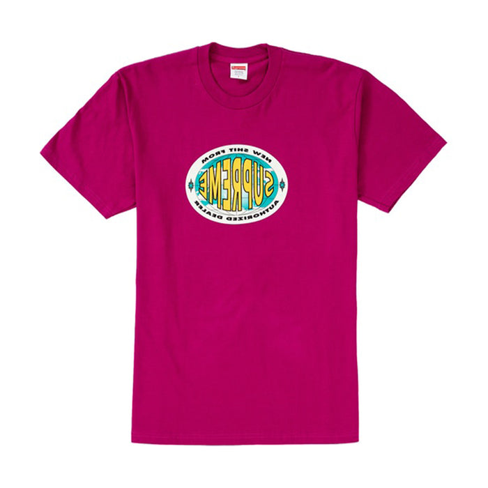 Supreme New Shit Tee Magenta