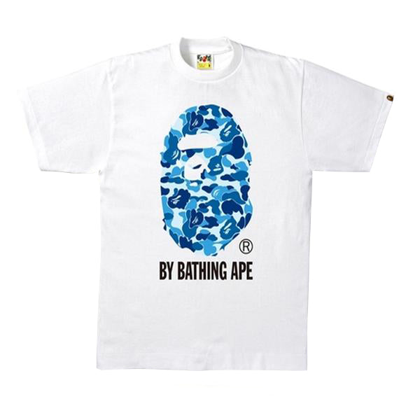 Bape ABC Camo by Bathing Tee White/Blue