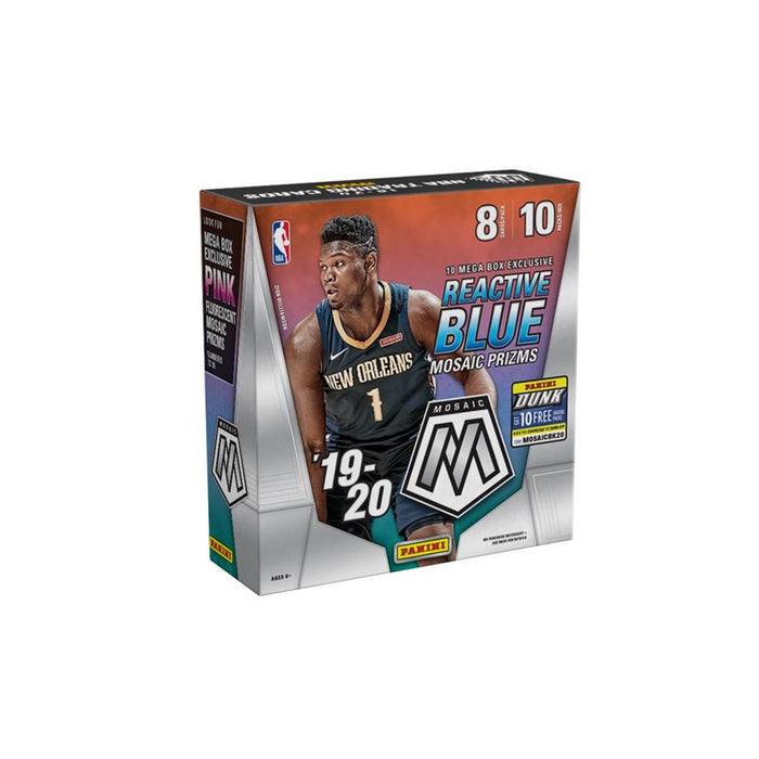 2019-20 Panini Mosaic Basketball Mega Box