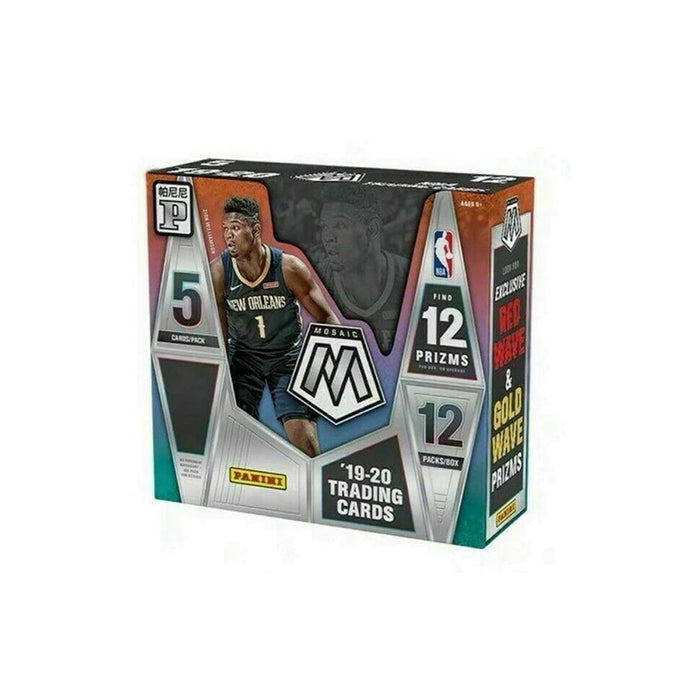 2019-20 Panini Mosaic Basketball T-Mall Box