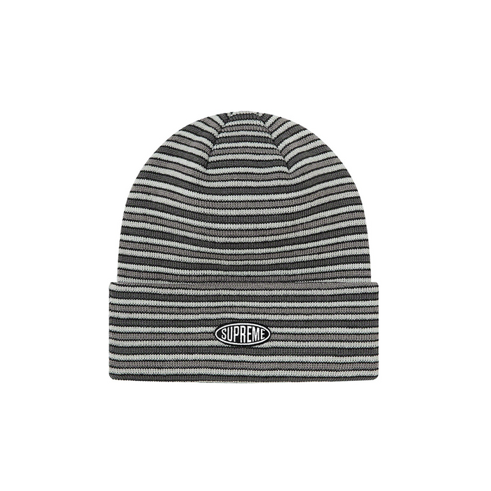 Supreme Multi Stripe Beanie (FW20) Black