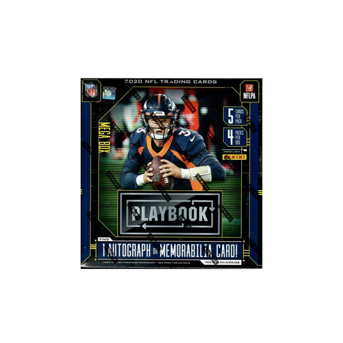 2020 Panini Playbook Football Mega Box