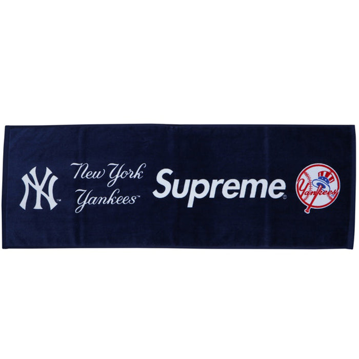 Supreme New York Yankees Hand Towel Navy