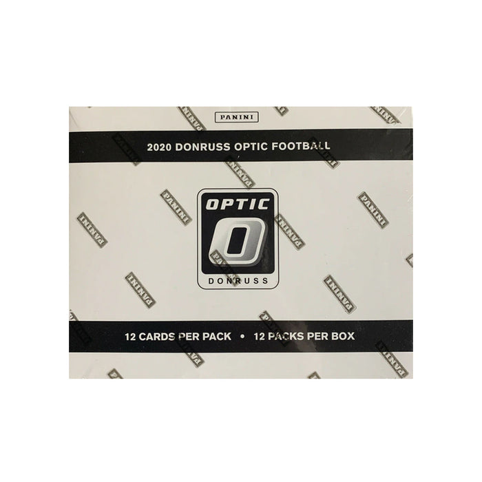 2020 Panini Donruss Optic Football Cello Fat Pack Box Sealed