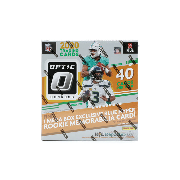 2020 Panini Donruss Optic Football Mega Box (Blue Hyper Parallels)