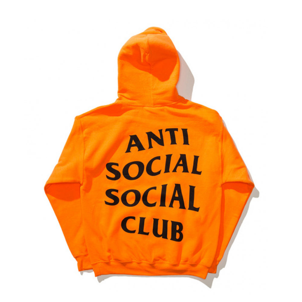 Anti Social Social Club X UNDFTD Paranoid Hoodie Orange