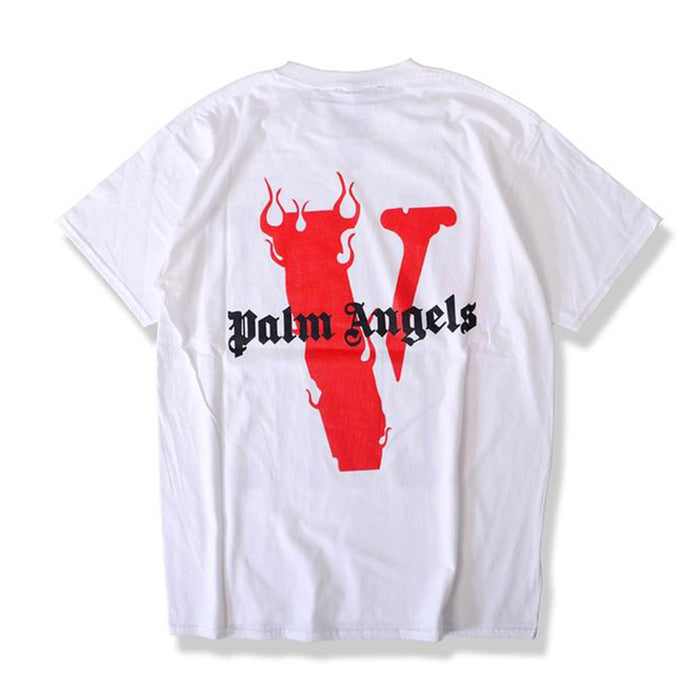 Vlone x Palm Angels Tee White