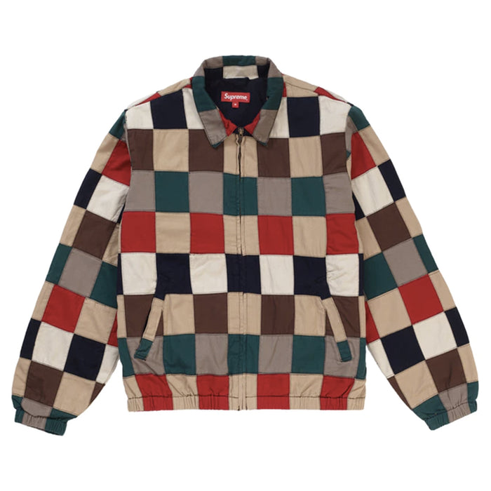 Supreme Patchwork Harrington Jacket Multicolor