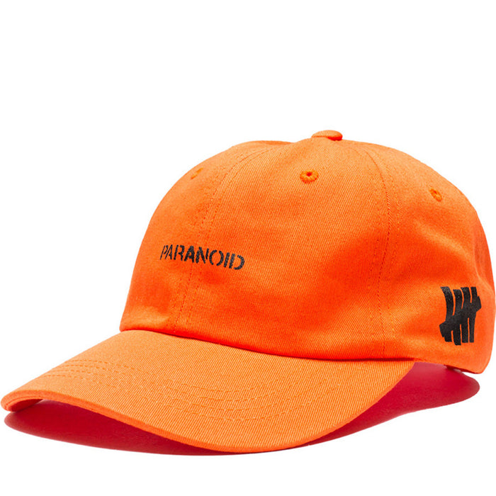 Anti Social Social Club x UNDFTD Paranoid Cap Orange