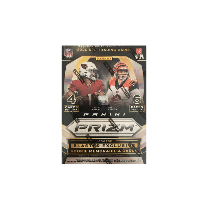 2020 Panini Prizm Football Blaster Box Lazer