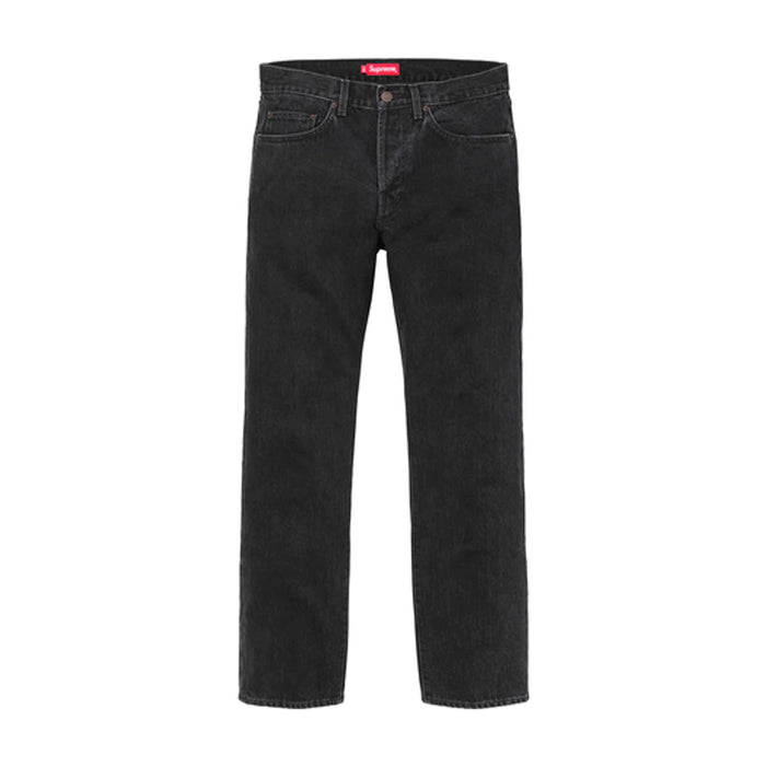 Supreme Stone Washed Slim Jeans Stone Washed Black