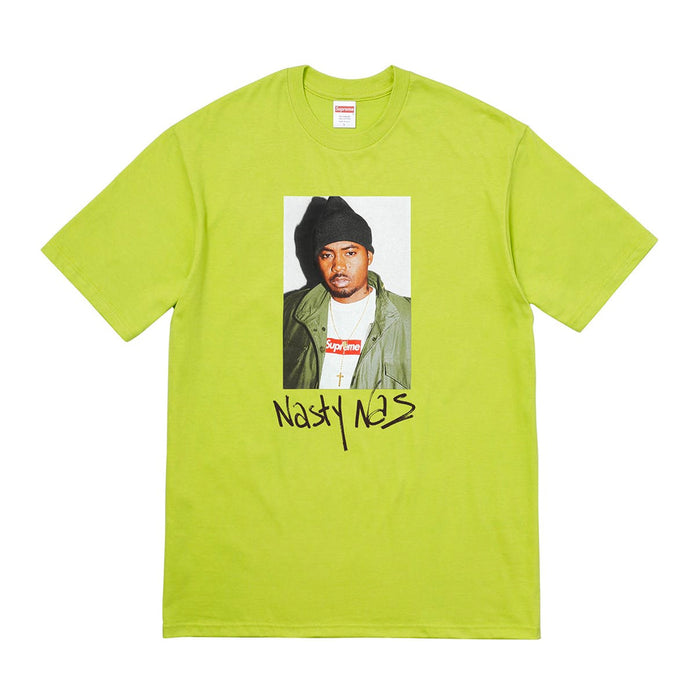 Supreme Nas Tee Pale Lime