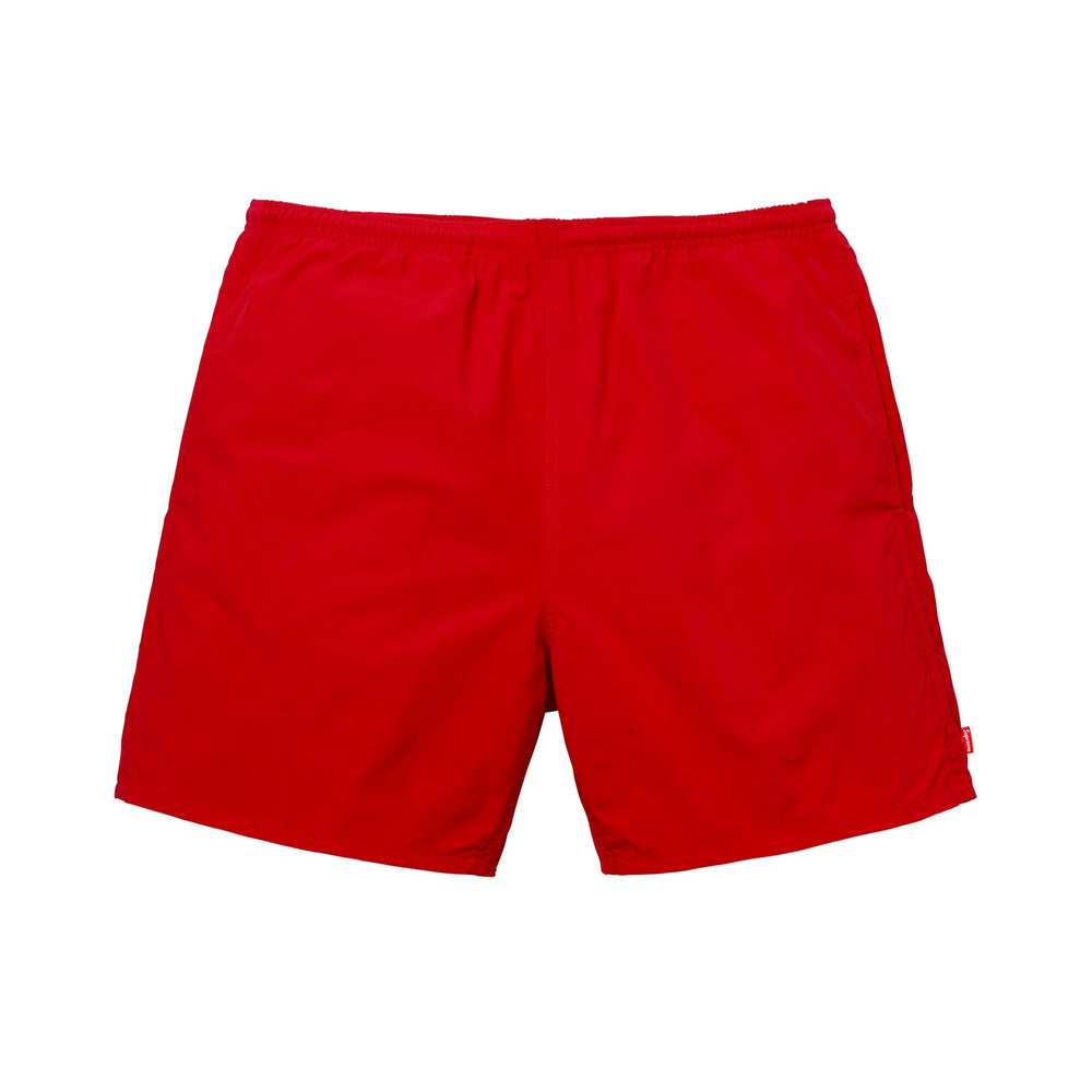 Supreme Arc Logo Water Short Red