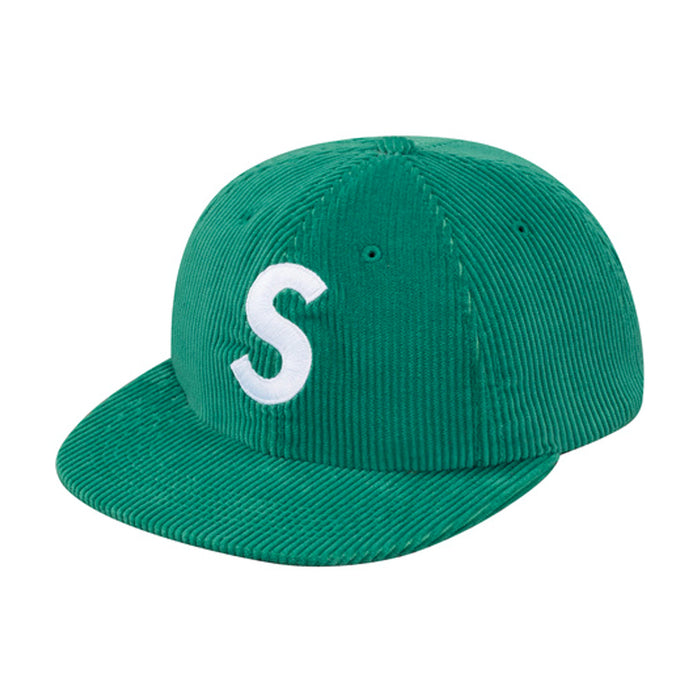 Supreme Corduroy S Logo 6 Panel Green