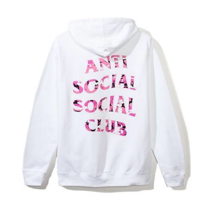 Anti Social Social Club Beverly Hoodie White/Pink