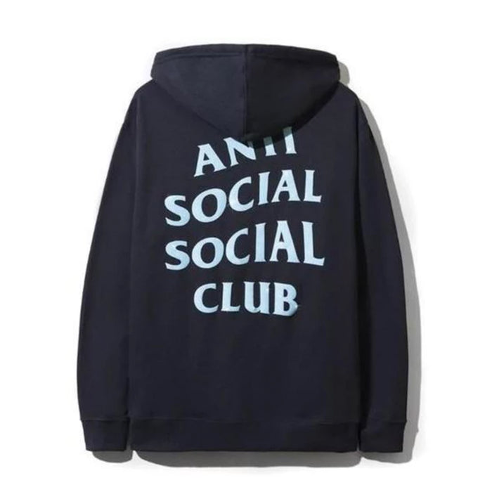 Anti Social Social Club Blinded Hoodie Navy