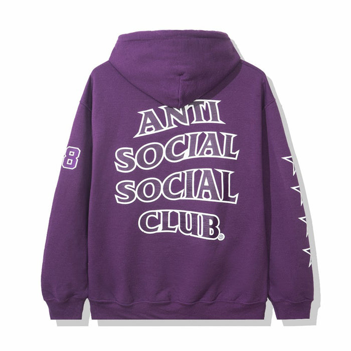 Anti Social Social Club Sport Hoodie Purple